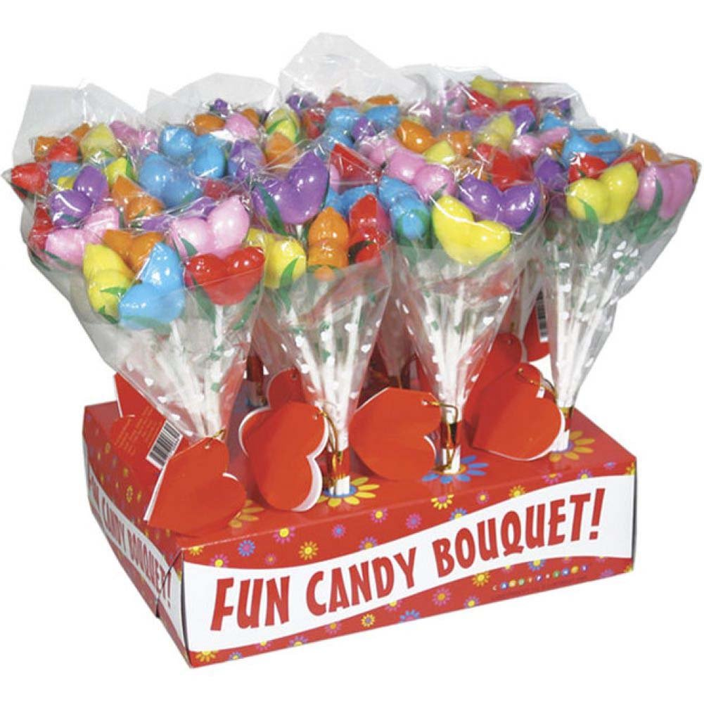 Candyprints Boobs Bouquet 12 Piece Display - View #2