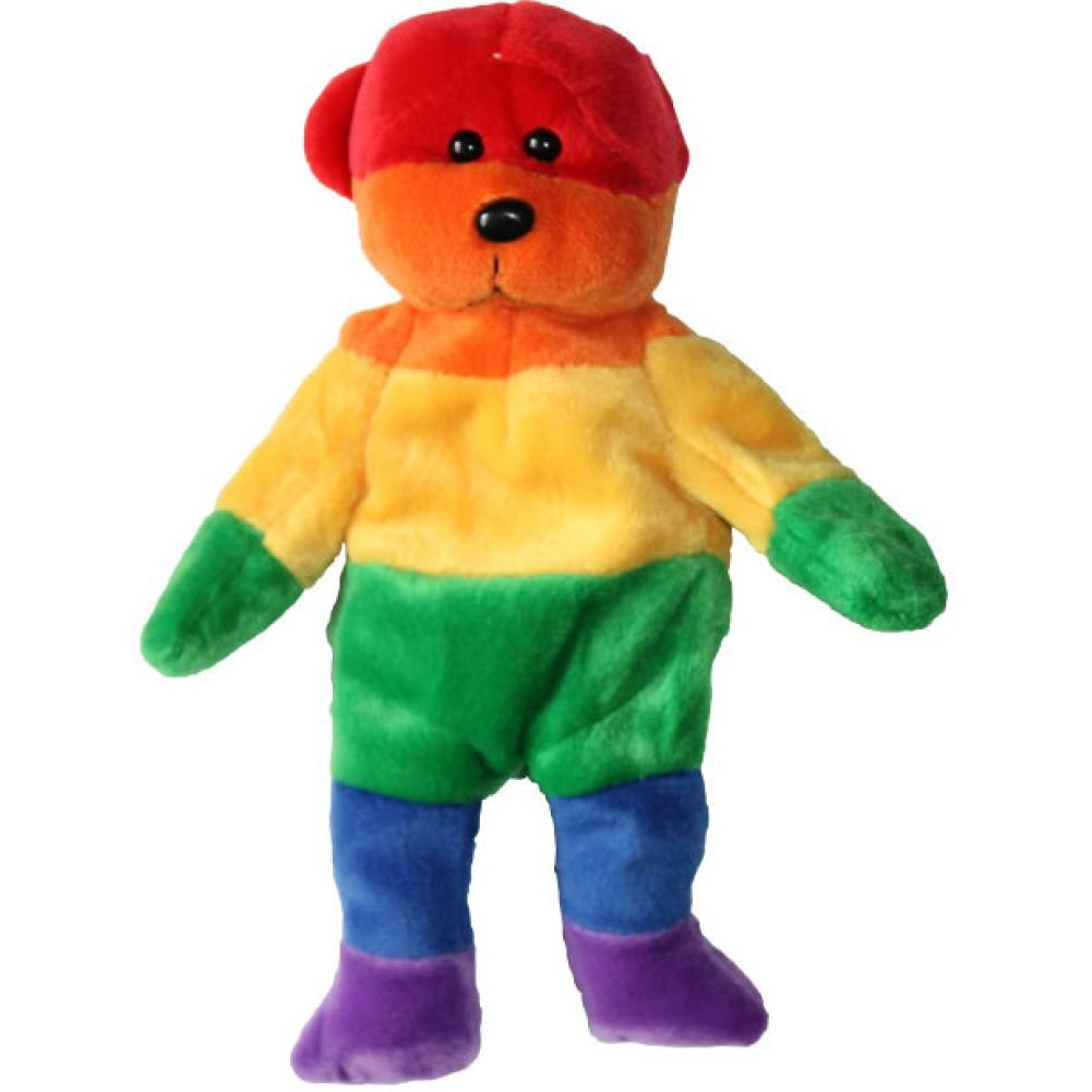 Rainbow Bear - View #1