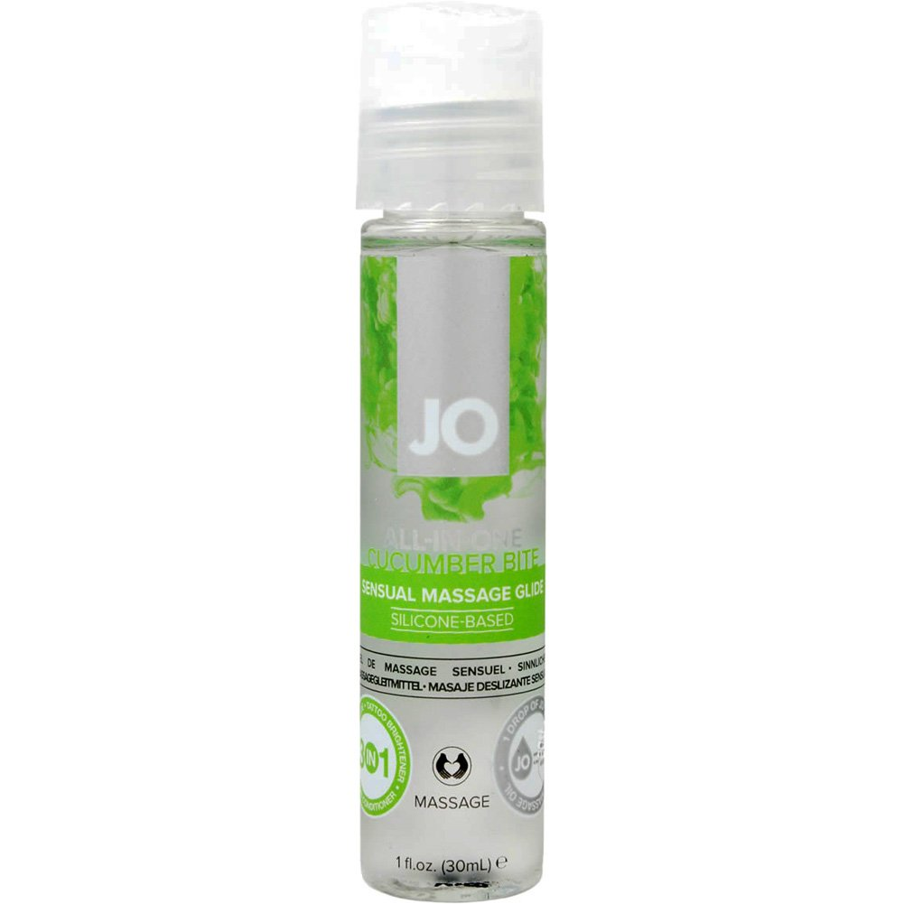 System JO Massage Cucumber 1 Oz 12 Piece Display - View #1