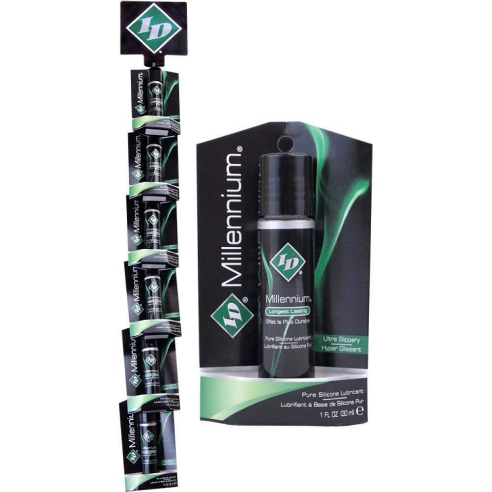 ID Lubes Millennium Premium Silicone Personal Lubricant 1 Fl.Oz 30 mL Display of 12 Bottles - View #1