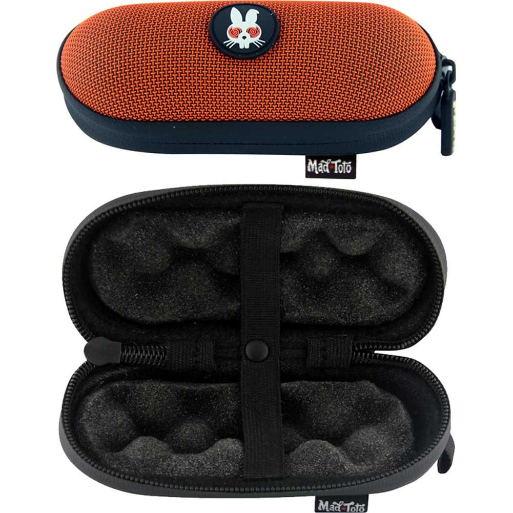 Mad Toto Small Tube Case Orange - View #1