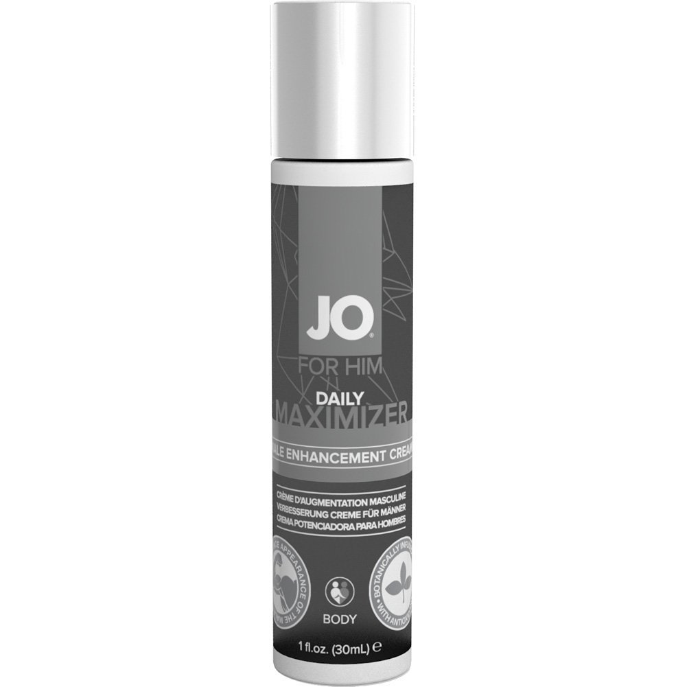 System JO for Him Daily Maximizer Male Enhancement Cream 1 Fl.Oz - View #2