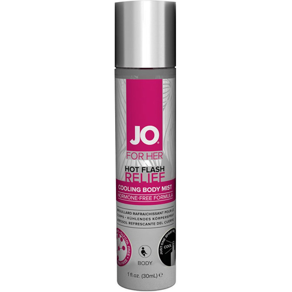 System JO Hot Flash Relief Spray Cooling Body Mist 1 Fl.Oz - View #1
