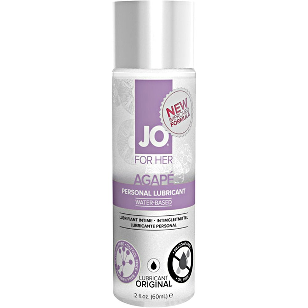 System JO for Her Agape Personal Lubricant 2 Fl.Oz 60 mL Warming - View #1