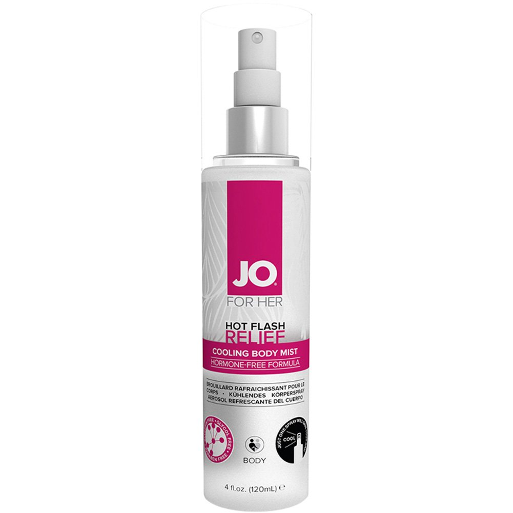 System JO for Her Hot Flash Relief Spray Cooling Body Mist 4 Fl.Oz 120 Ml - View #1