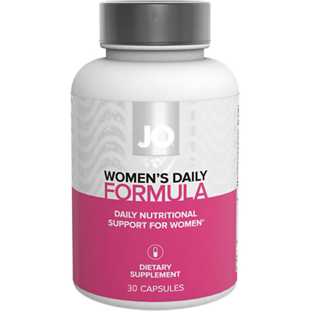 System Jo WomenS Daily Formula Nutritional Supplement 30 Count Capsules - View #1