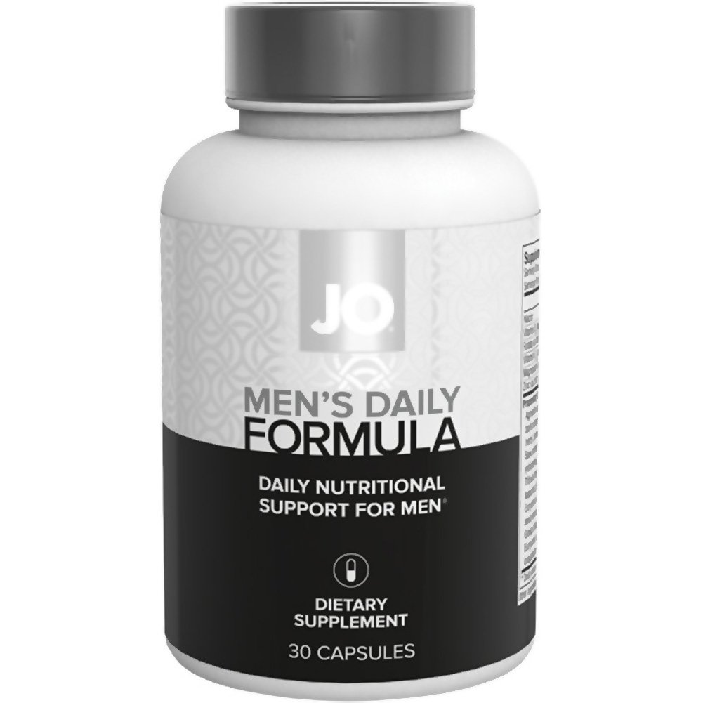 System JO for Him Daily Support Male Nutritional Supplement 30 Capsules - View #1