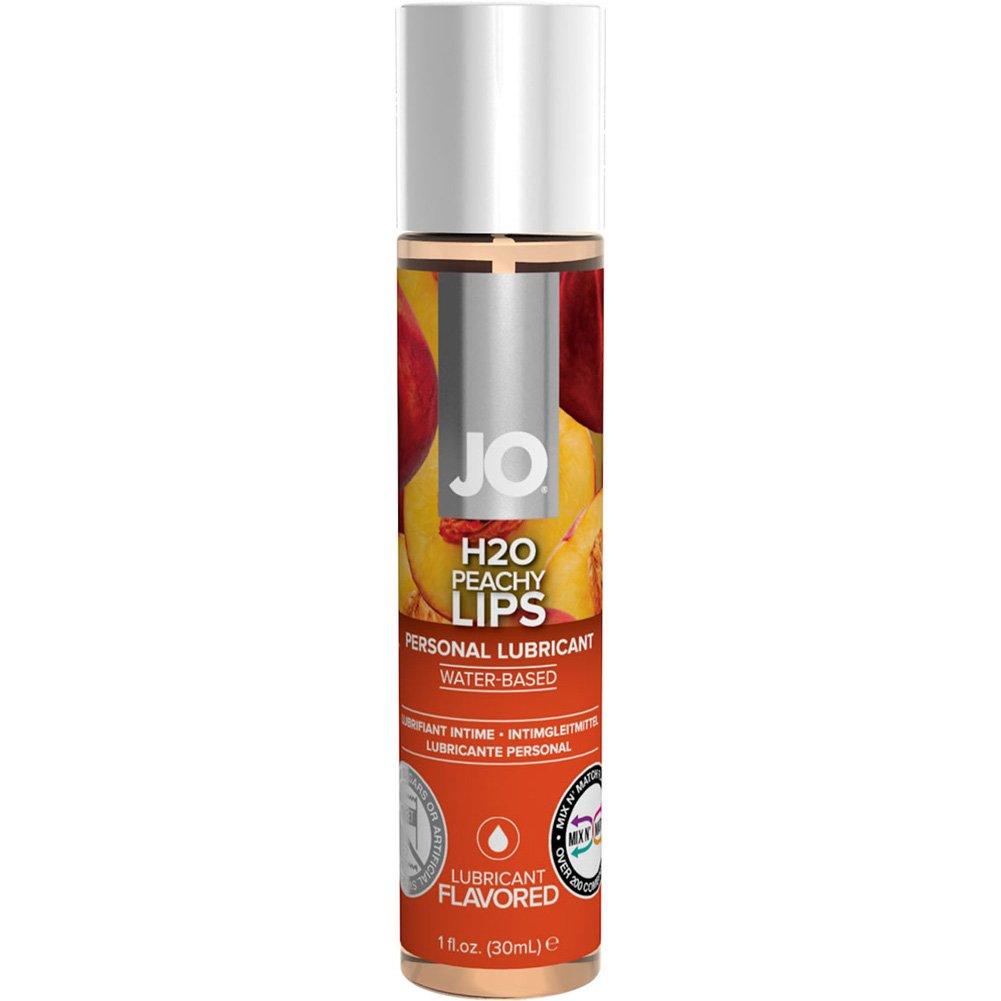 System Jo H2o Peachy Lips 1 Oz 12 Piece Display - View #1