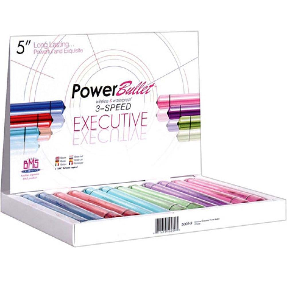 "BMS 5"" Breeze Power Bullet Assorted Colors 12 Piece Display - View #1"