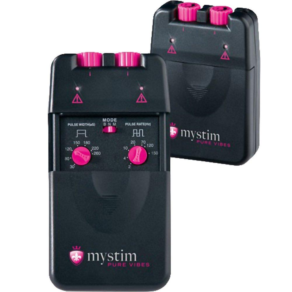 Mystim Pure Vibes Nervstimulator Black - View #1