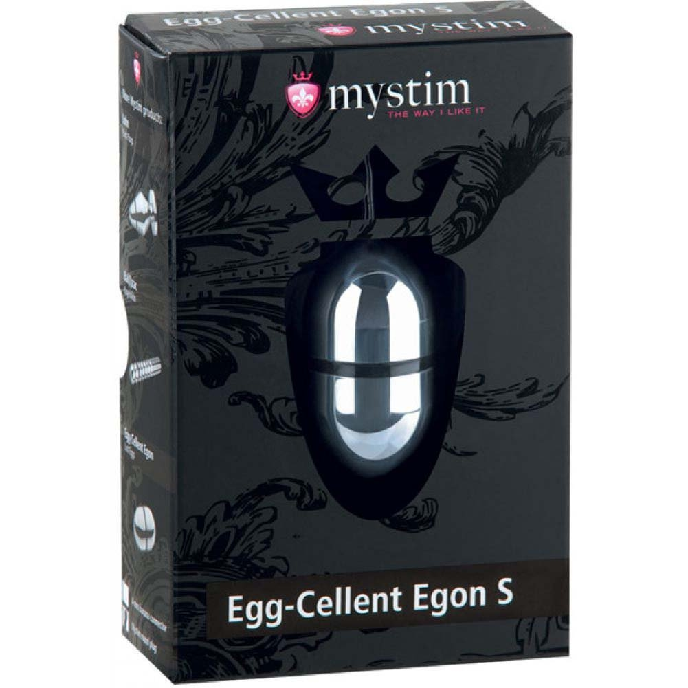 "Mystim Egg Cellent Egon Lustegg 2"" Silver Small - View #1"