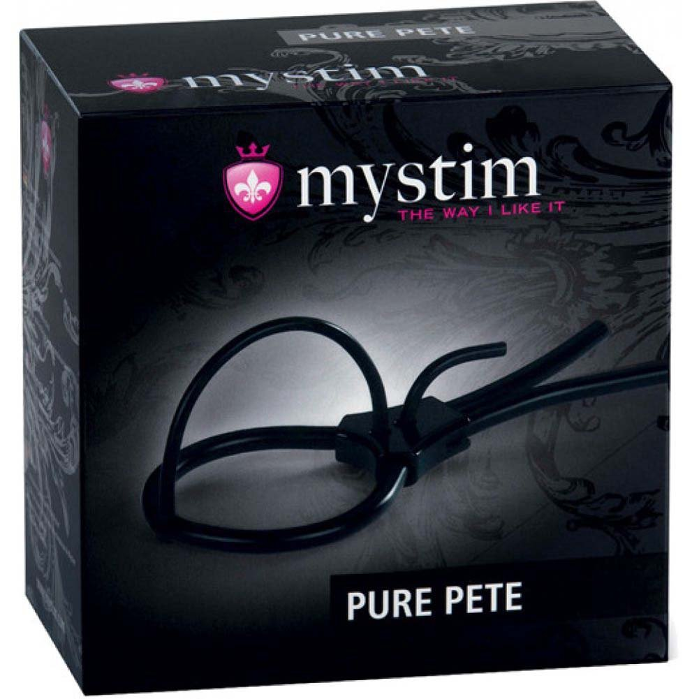Mystim Pure Pete Corona Strap Black - View #4