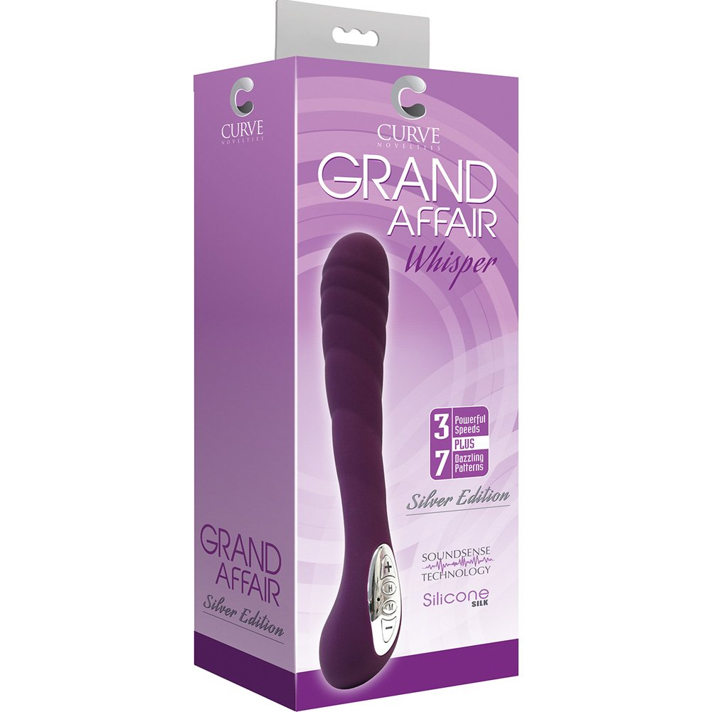 Curve Novelties Grand Affair Whisper Silver Edition Eggplant - View #1