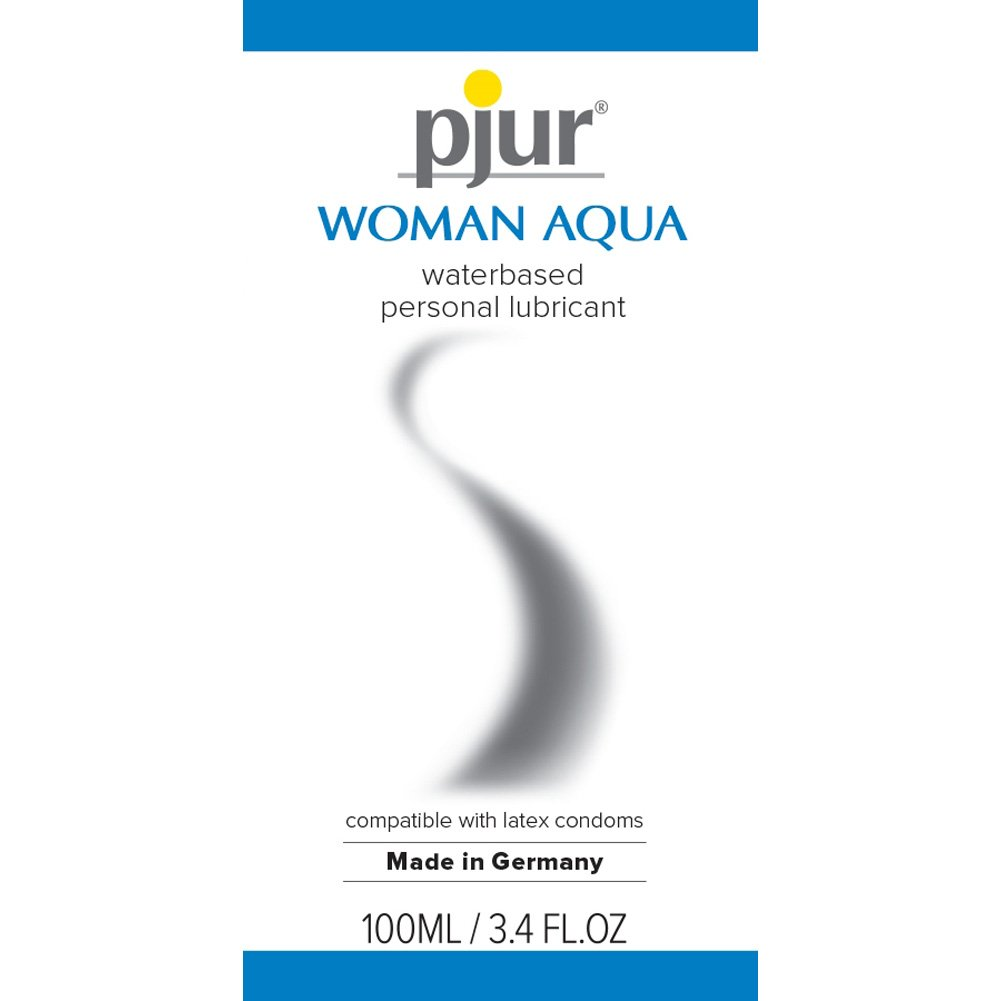 Pjur Original Woman Aqua Water Based Intimate Lubricant 3.4 Fl.Oz 100 mL - View #1