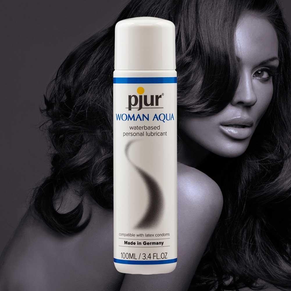 Pjur Original Woman Aqua Water Based Intimate Lubricant 3.4 Fl.Oz 100 mL - View #3