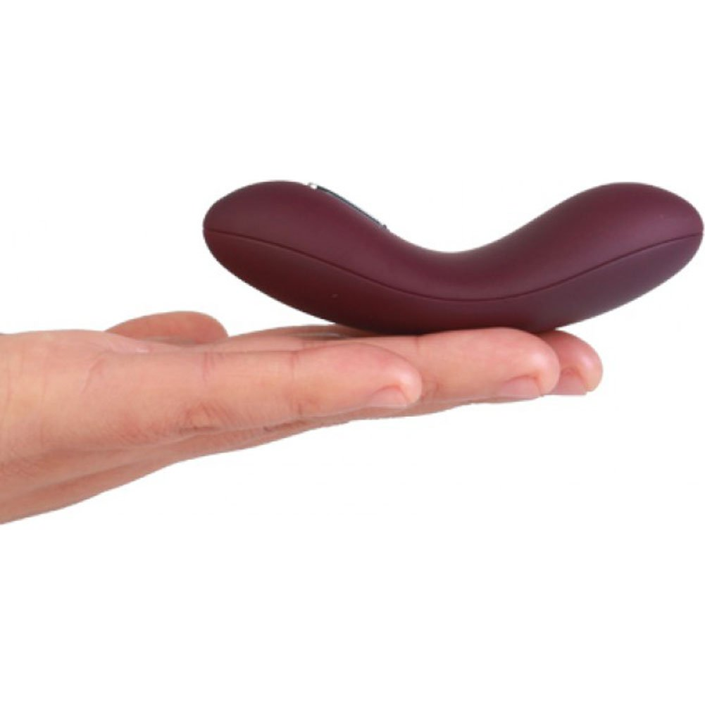 "Echo Rechargeable Mini Vibrator by Svakom 3.5"" Amethyst - View #1"