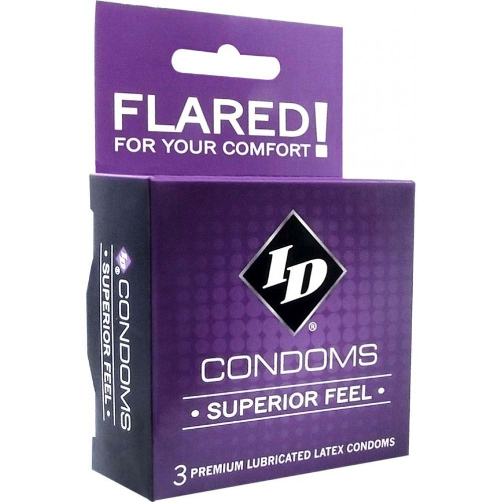 Id Superior Feel Condoms 3 Piece Pack - View #1