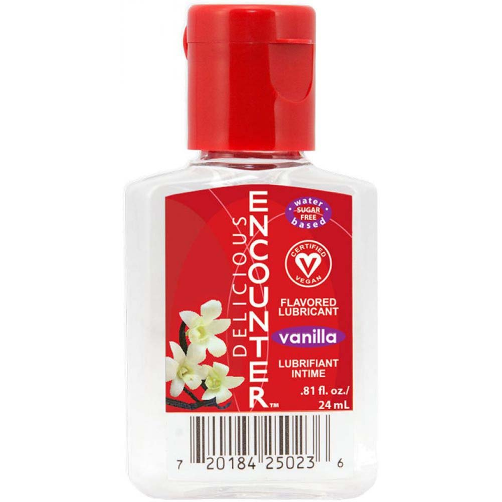 Delicious Encounter Flavored Water Based Lubricant 0.81 Fl.Oz 24 mL Vanilla - View #1