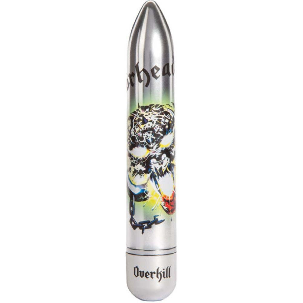 Motorhead Overkill Power Vibrator 7 Function Silver - View #2