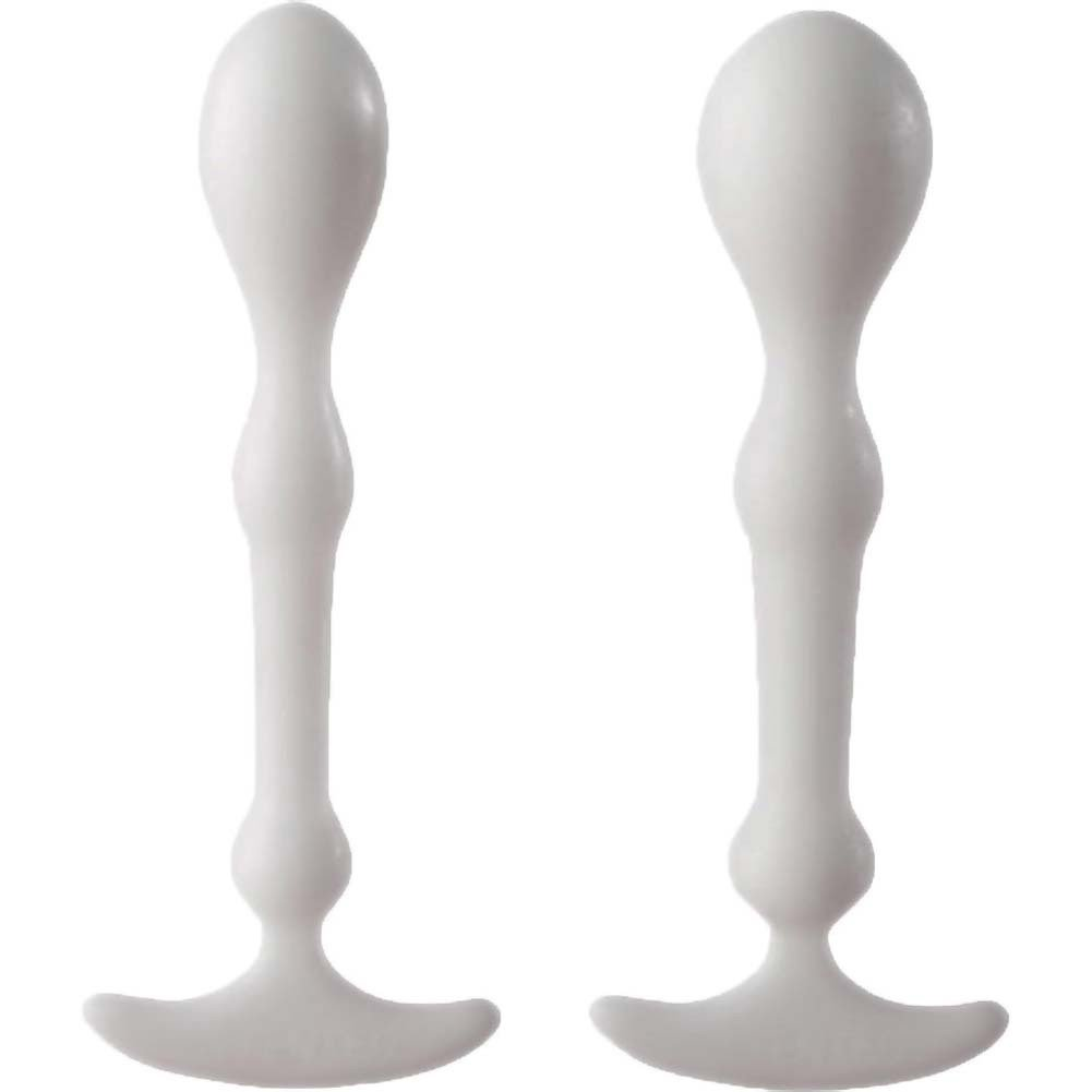 Aneros Peridise Anal Probes for Men and Women White 2 Pack - View #2