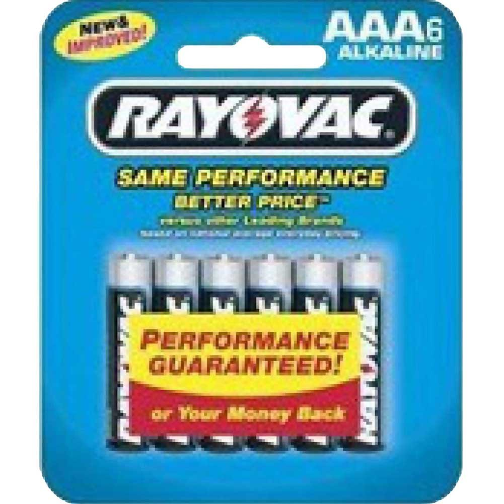 Rayovac Battery AAA 6 Piece Pack - View #1