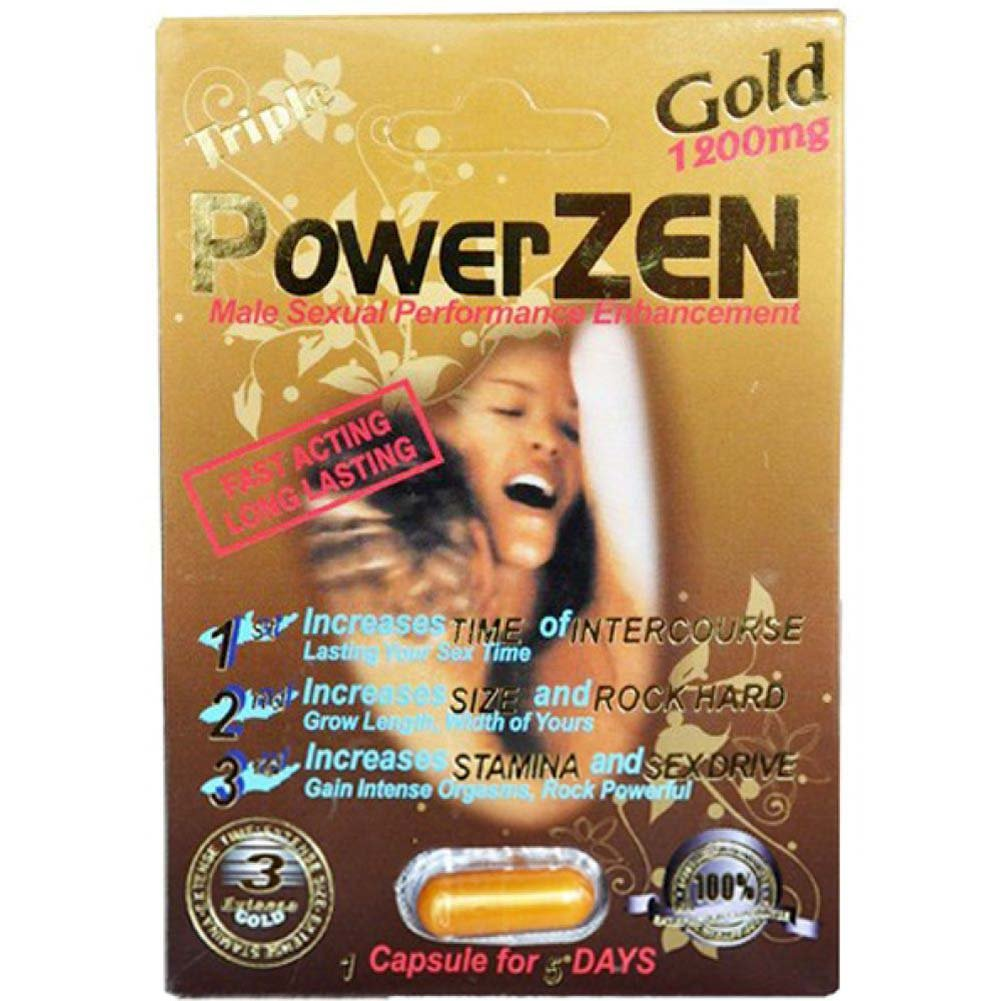 Triple Powerzen 1200 Mg 24 Piece Display - View #1