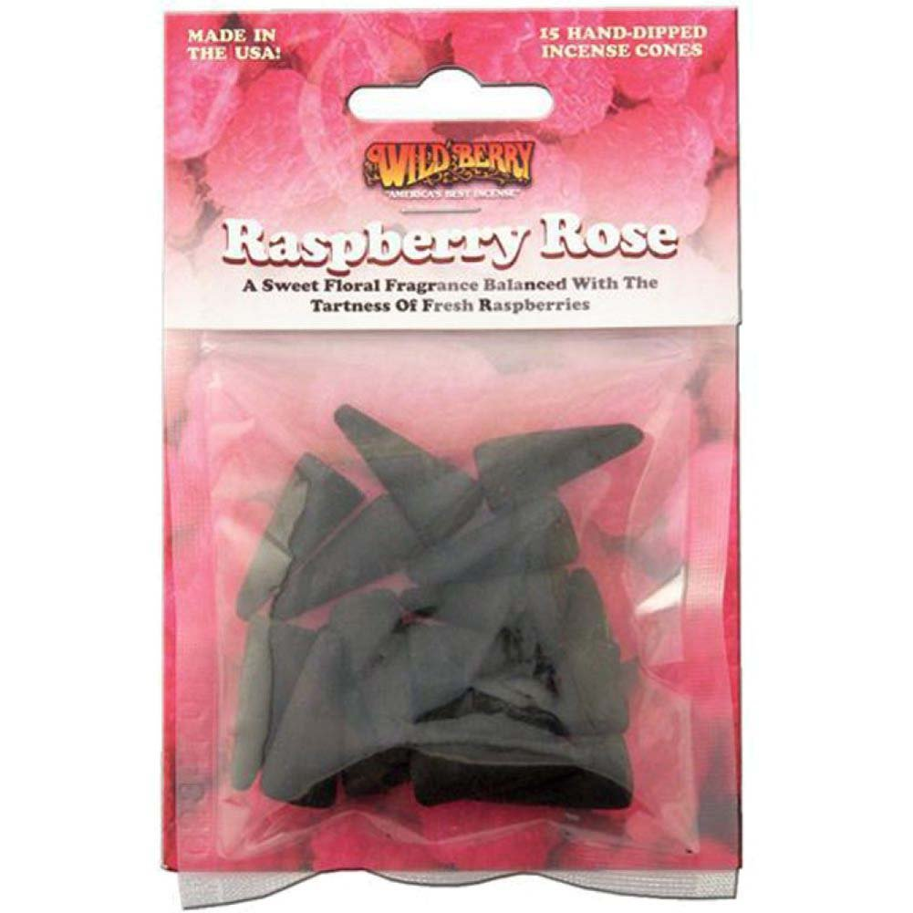 Wildberry Raspberry Rose Cone Pre-Pack 15 - View #1