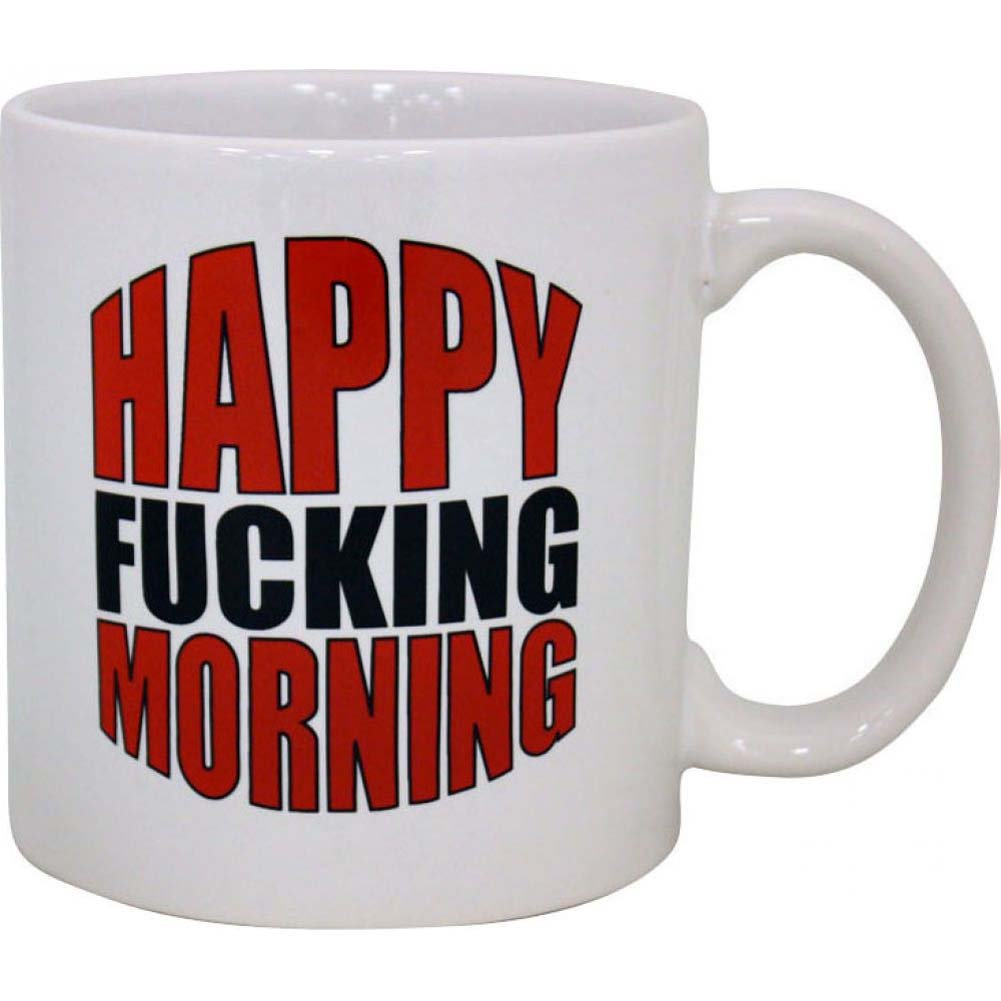 Mug Happy Fucking Morning - View #1