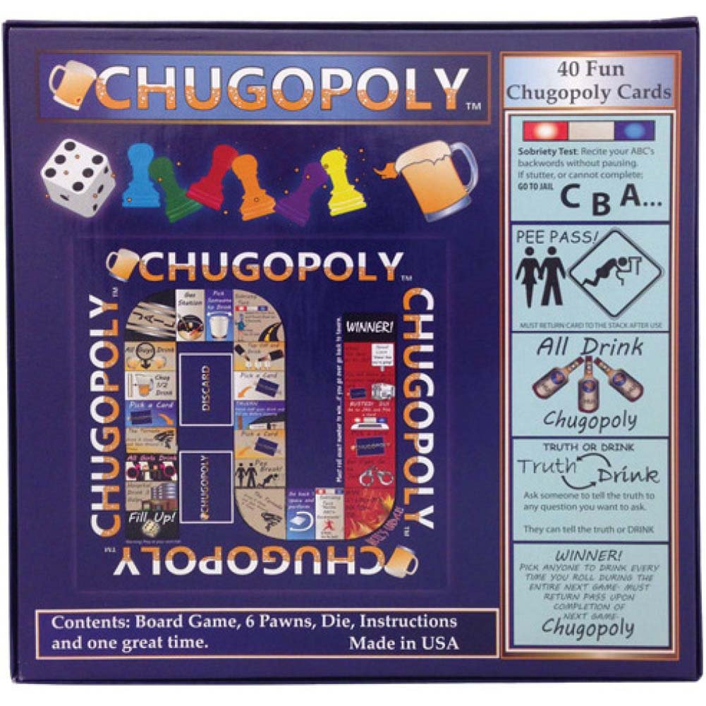 Chugopoly Board Game - View #1