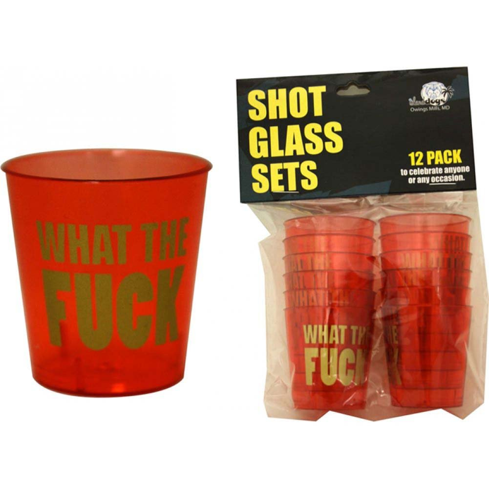 What the Fuck Shot Glass Set 12 Piece Pack - View #1