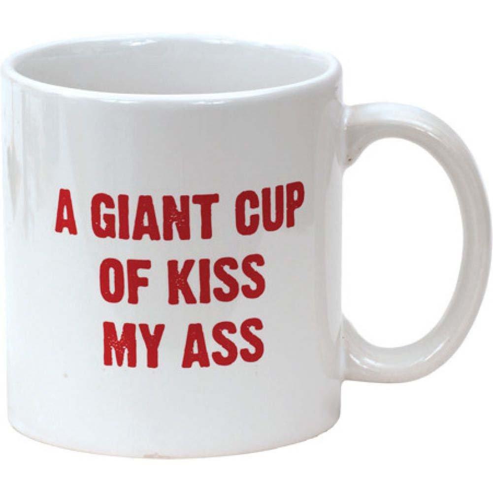 Island Dogs Attitude Mug A Giant Cup of Kiss My Ass 22 Fl. Oz. 650 mL Coffee Mug - View #1
