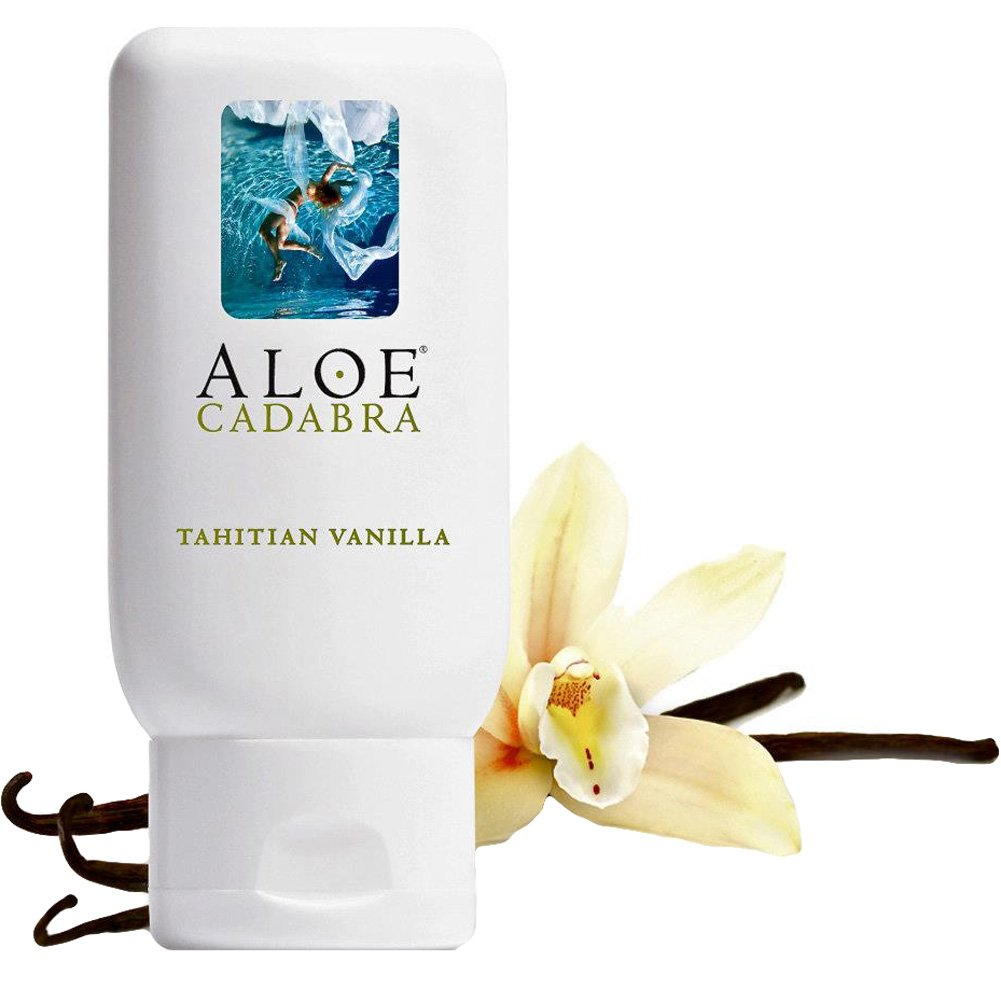 Aloe Cadabra Organic Lubricant Tahitian Vanilla 2.5 Oz Bottle - View #2