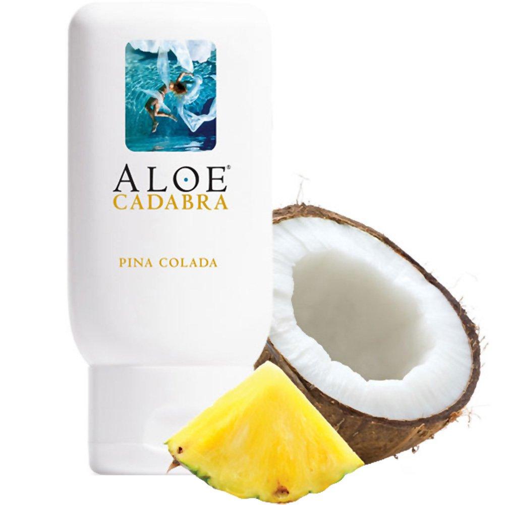 Aloe Cadabra Organic Lubricant Pina Colada 2.5 Oz Bottle - View #2