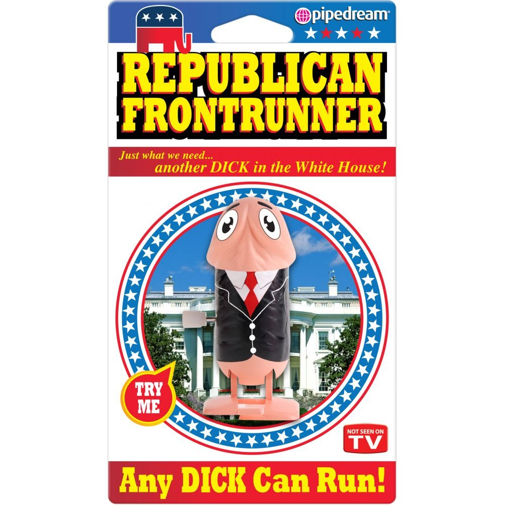 Republican Front Runner Wind Up - View #1