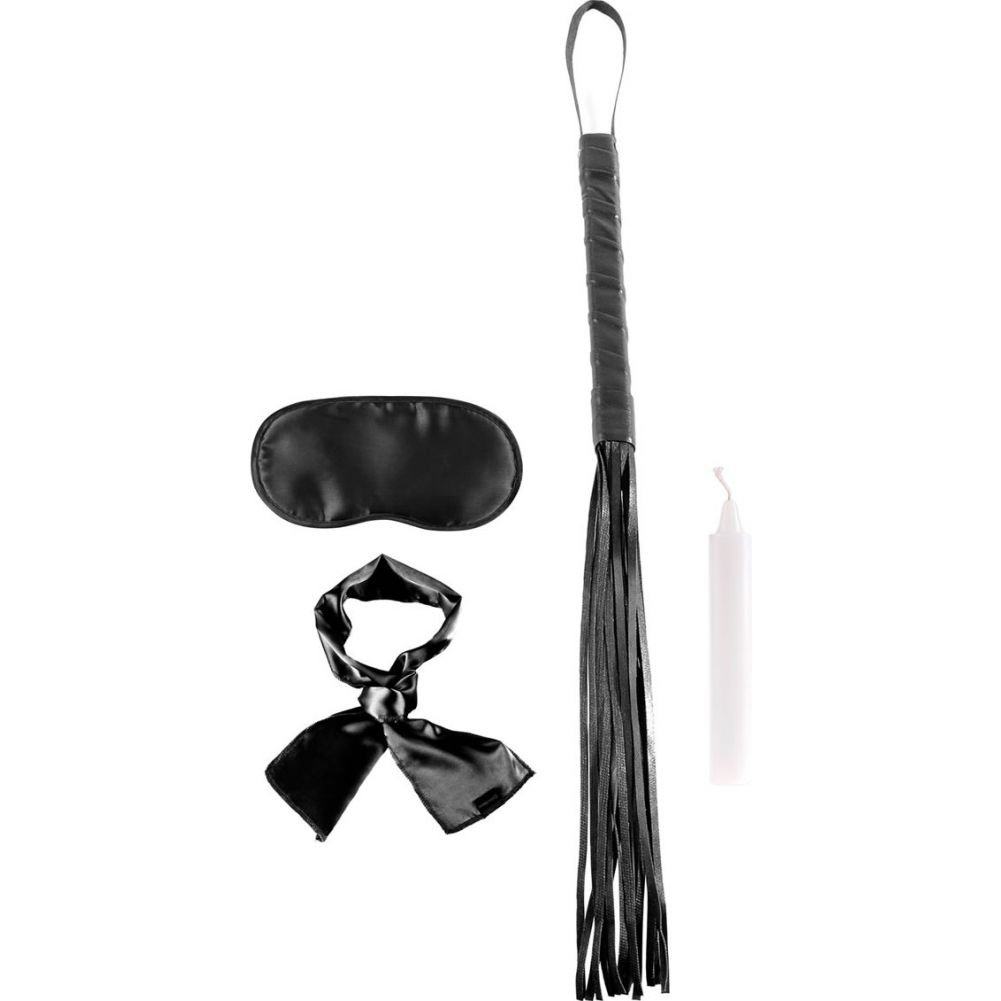 Fetish Fantasy Limited Edition Silky Seduction Kit Black - View #2