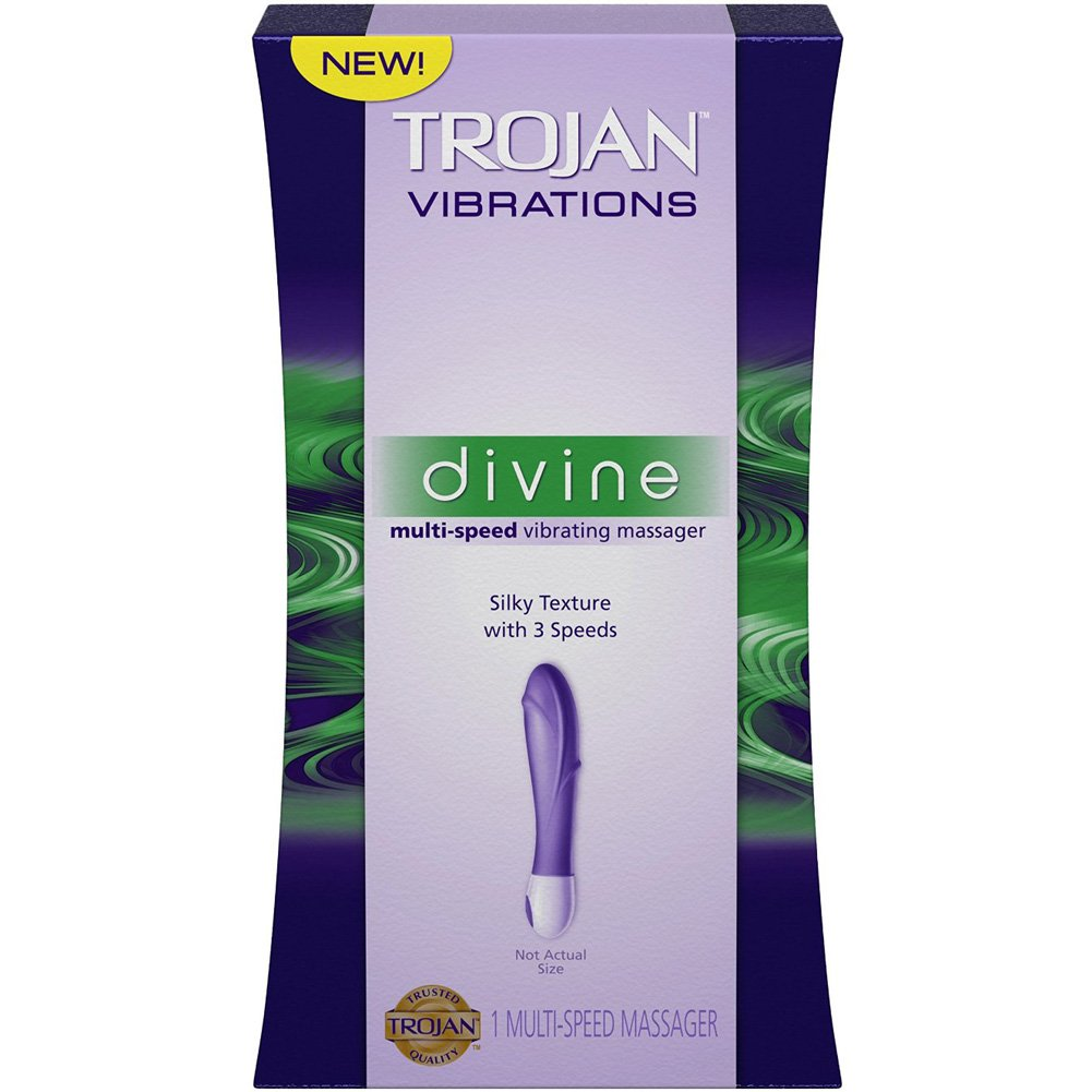 Trojan Divine Multi-Speed Vibrating Massager - View #1
