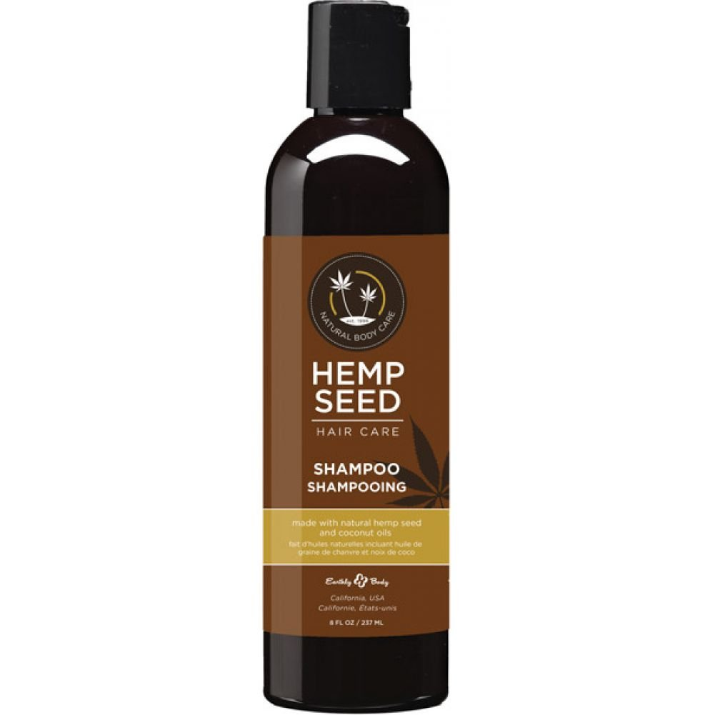 Earthly Body Hemp Seed Hair Care Shampoo 8 Oz 236 mL - View #1