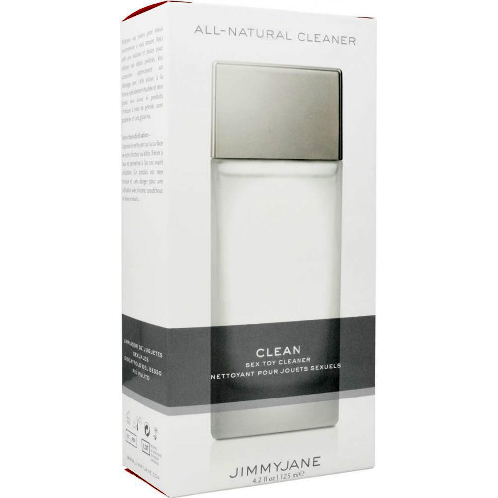 Jimmyjane Naturally Clean Sex Accessory Cleanser 4.1 Fl.Oz 125 mL - View #4