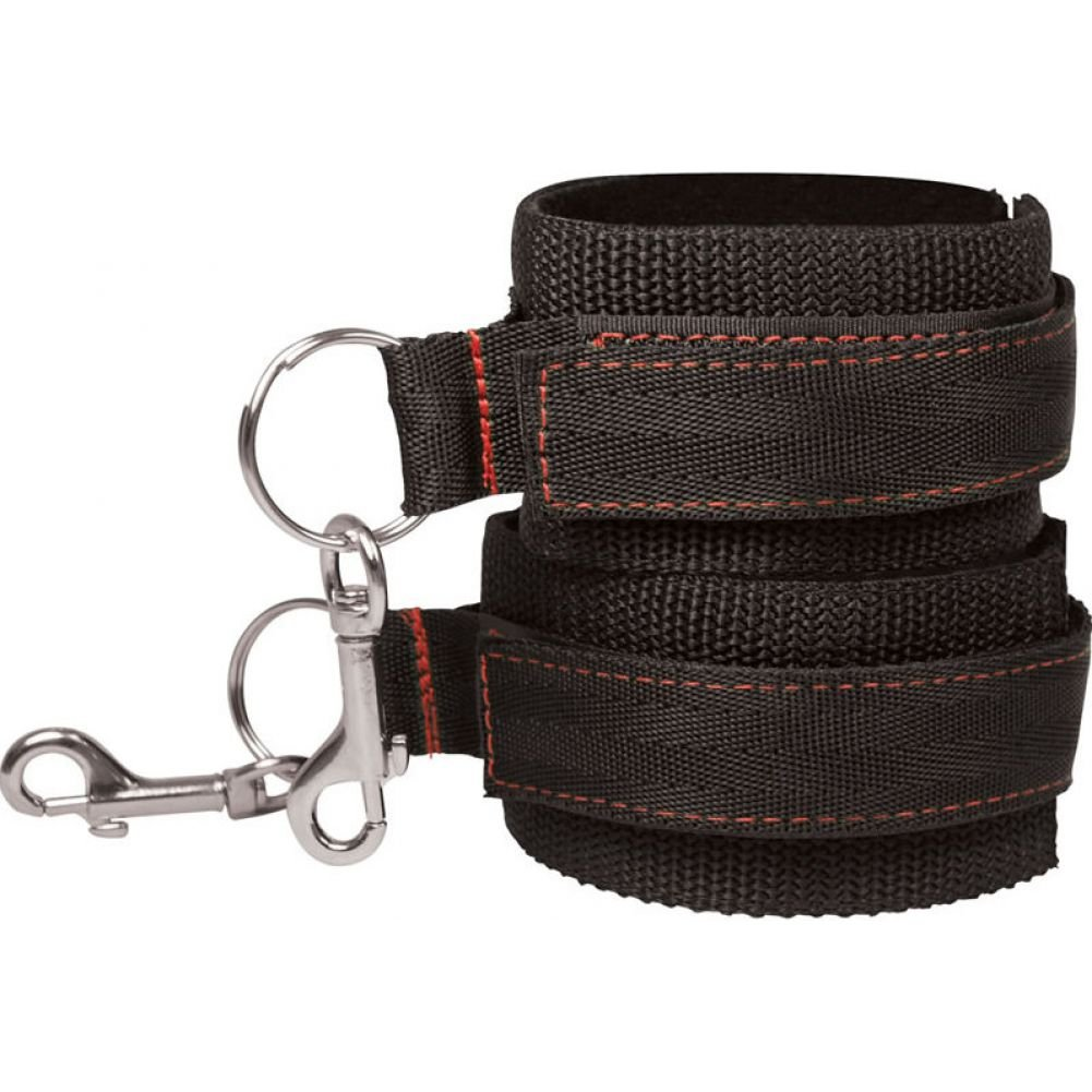 Sportsheets Manbound Mancuffs Black Set of 2 - View #2