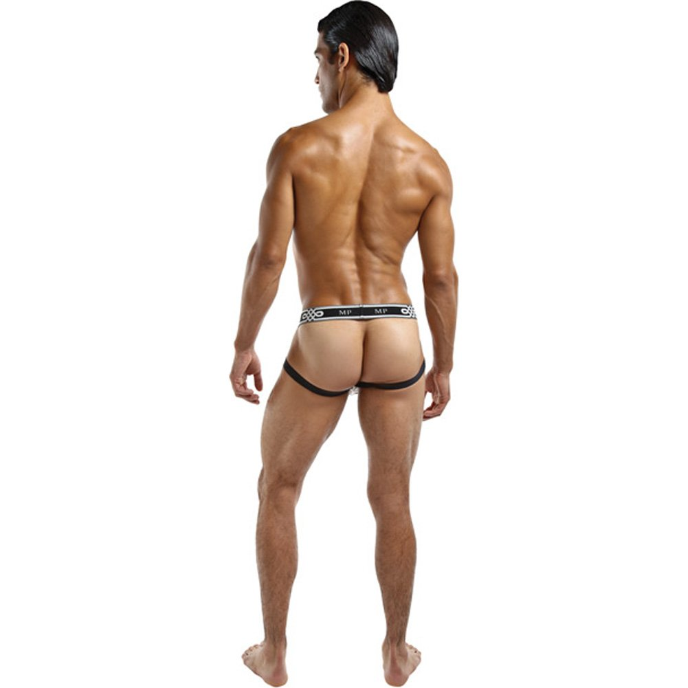 Male Power See Through Ring Jock Small/Medium Black - View #3