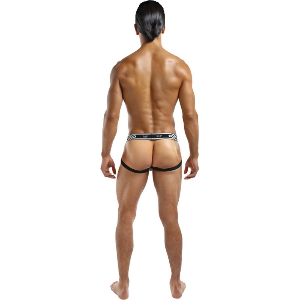 Male Power See Through Ring Jock Large/Extra Large White - View #2