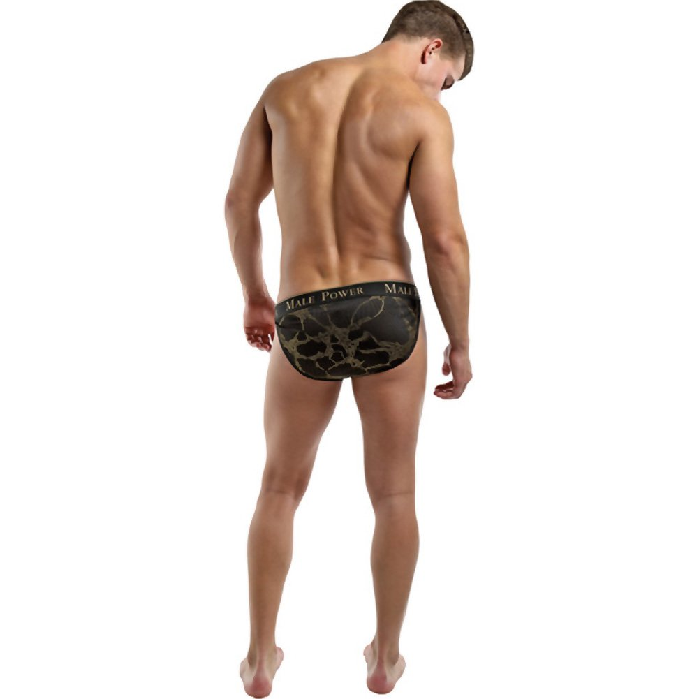 Male Power Enrichment Bikini Medium Black Gold - View #4
