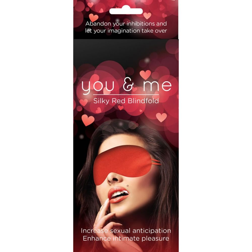 You and Me Silky Blindfold Red - View #1