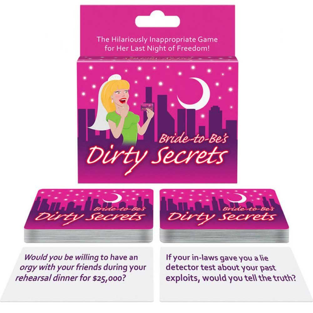 Bride-to-Be Dirty Secrets Card Game - View #2