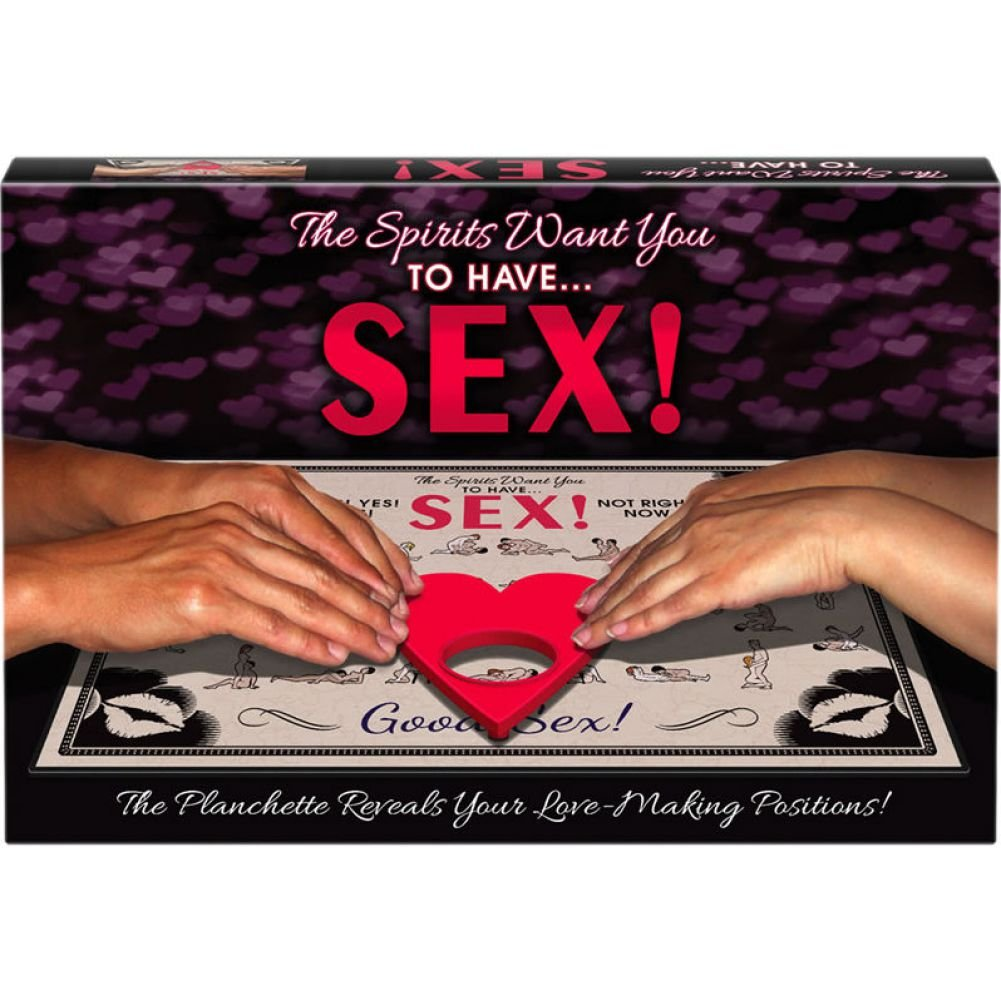 The Spirits Want You to Have Sex Ouija Board Game - View #1