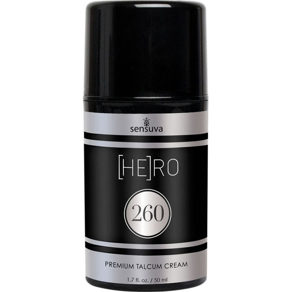 Sensuva Hero 260 Premium Talcum Cream for Men 1.7 Oz - View #1