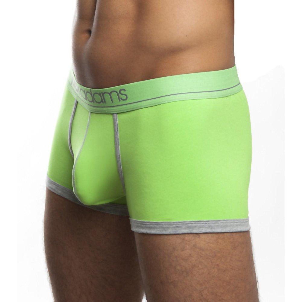 Jack Adams Shorty Boxer Brief Medium Lime/Grey - View #1