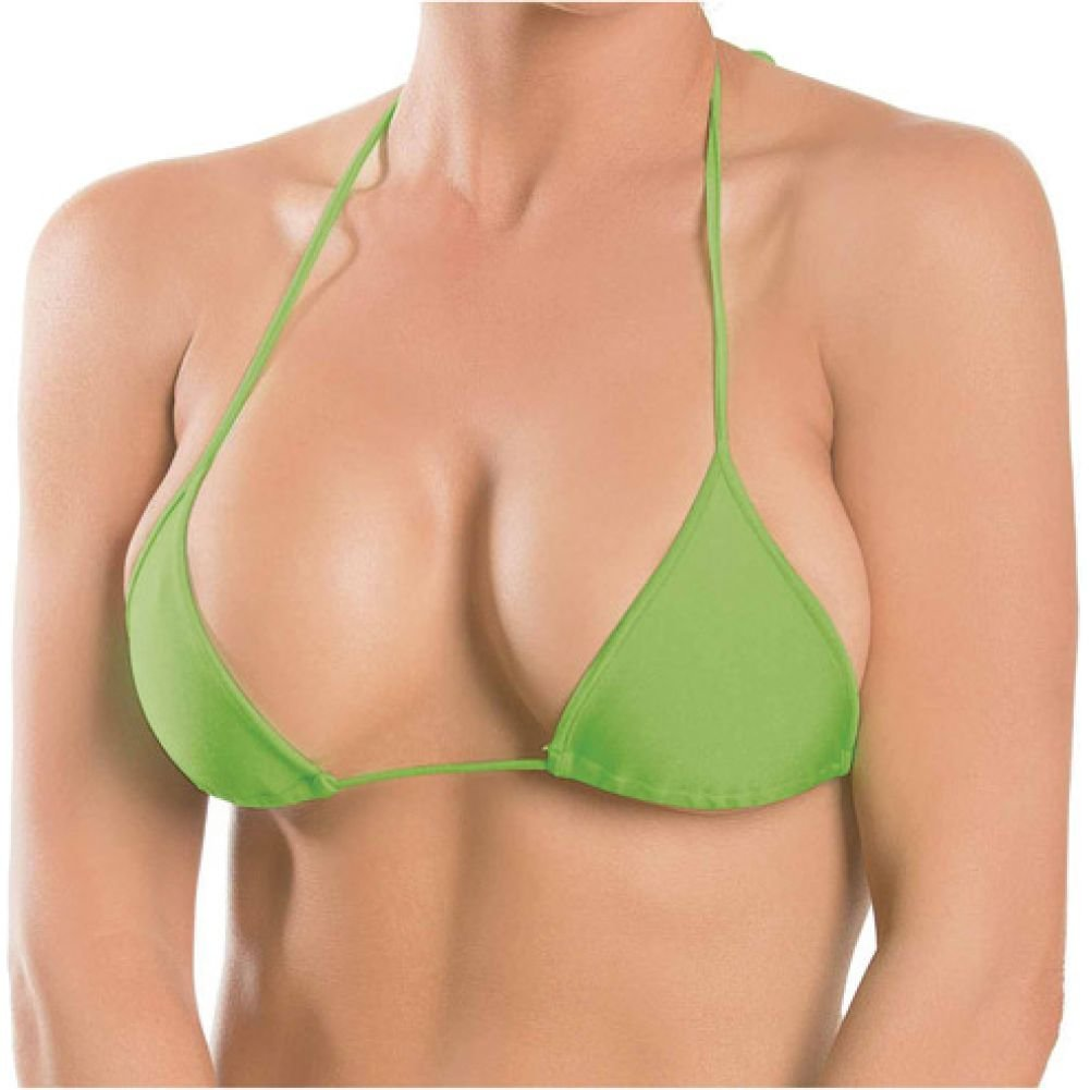 Triangle Top Lime One Size - View #1