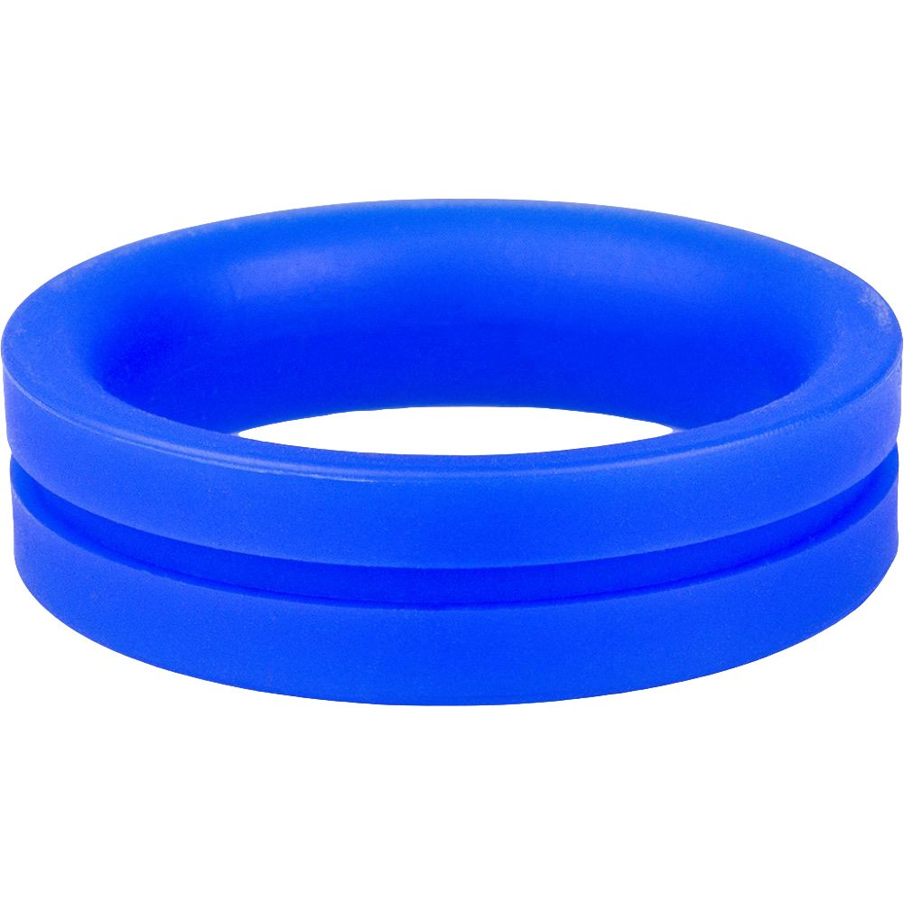 Screaming O Ringo Pro Cock Ring Large Blue - View #3