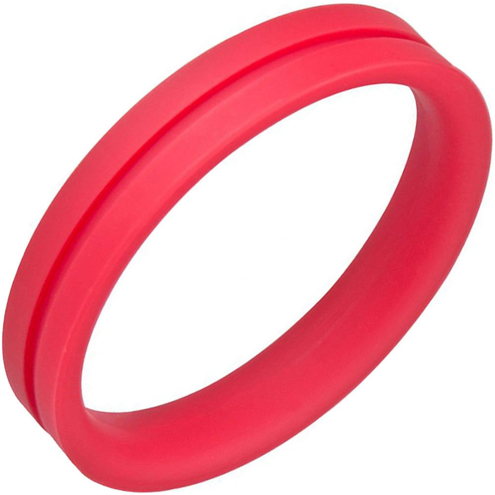 Screaming O Ringo Pro Cock Ring Extra Large Red - View #2